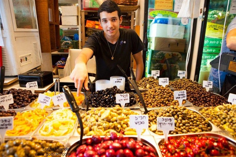 Israel private tour guide- shuk