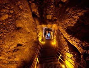City of David and underground Jerusalem