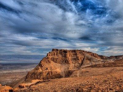 MASADA DEAD SEA the Judea desert