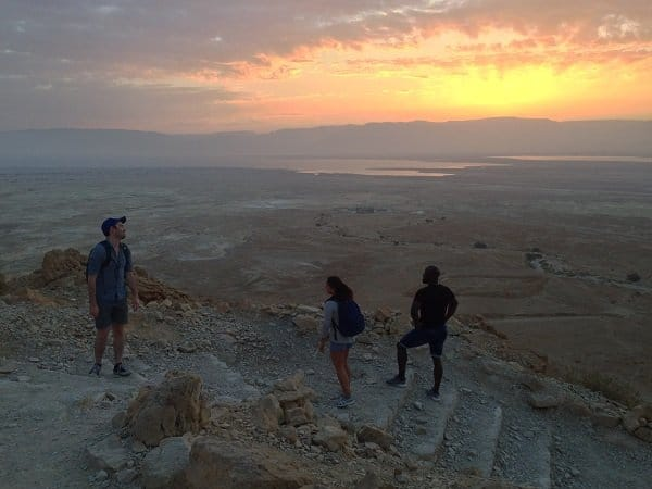 Masada at sunrise