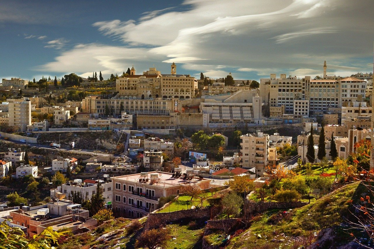 ancient Bethlehem city of david