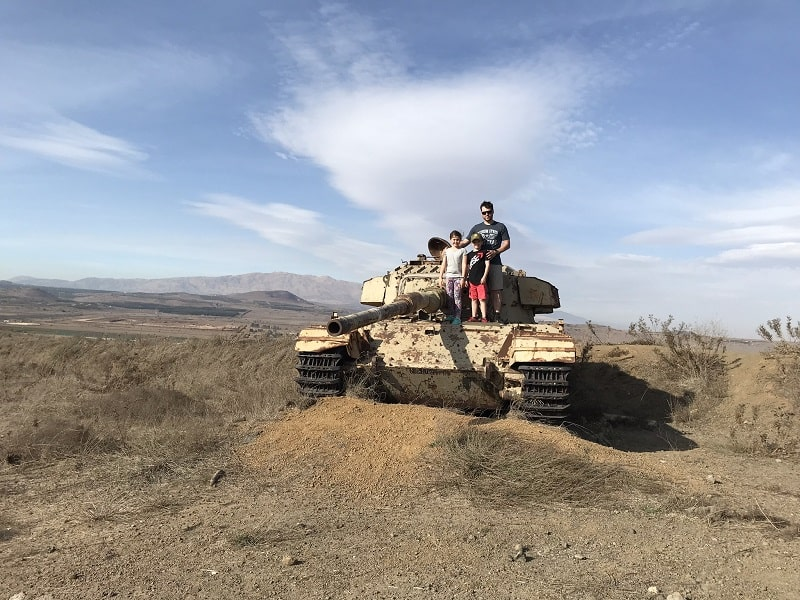 Golan heights tour