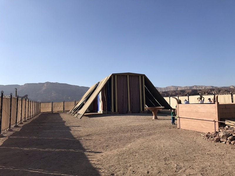 Timna park tabernacle